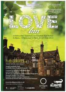 The Love Inn poster.